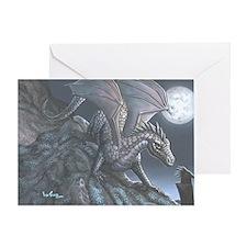 Blackwind Dragon Greeting Card