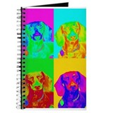 Op Art Doxie Journal