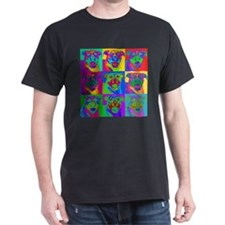 Op Art Pitbull T-Shirt