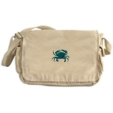 Blue Crab Messenger Bag