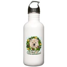 Merry Christmas Chow Chow Water Bottle