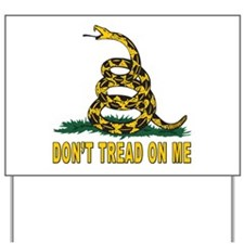 Tea Party Yard Sign