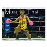 Muay Thai Wall Calendar
