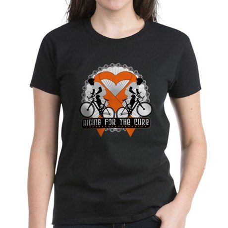 Leukemia Ride For A Cure Shir Women's Dark T-Shirt