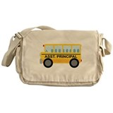 Assistant Principal School Bus Messenger Bag