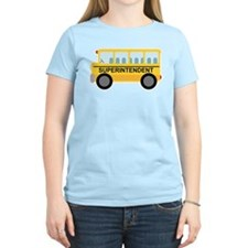 Superintendent School Bus T-Shirt