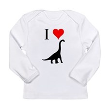 I Love Dinosaurs - Brachiosau Long Sleeve Infant T