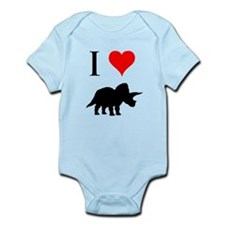 I Love Dinosaurs - Triceratop Infant Bodysuit
