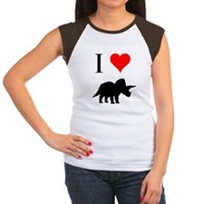 I Love Dinosaurs - Triceratop Tee