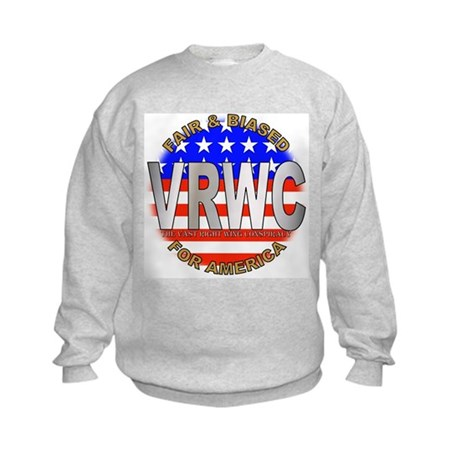VRWC Fair & Biased Kids Sweatshirt