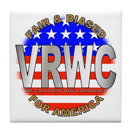 VRWC Fair & Biased Tile Coaster