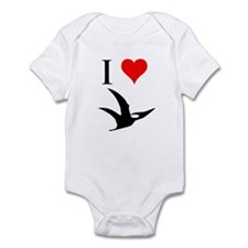 I Love Dinosaurs - Pterodacty Infant Bodysuit