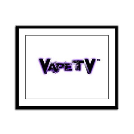 VapeTV Framed Panel Print