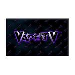 VapeTV 38.5 x 24.5 Wall Peel