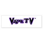 VapeTV Sticker (Bumper)