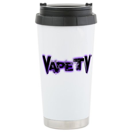 VapeTV Ceramic Travel Mug