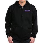 VapeTV Zip Hoodie (dark)