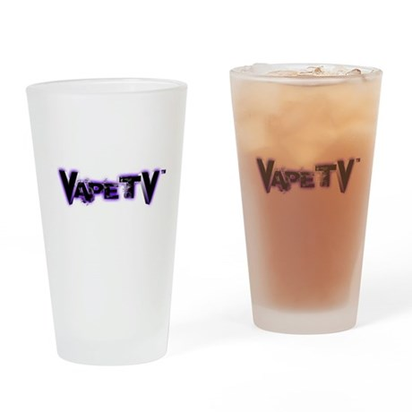 VapeTV Drinking Glass