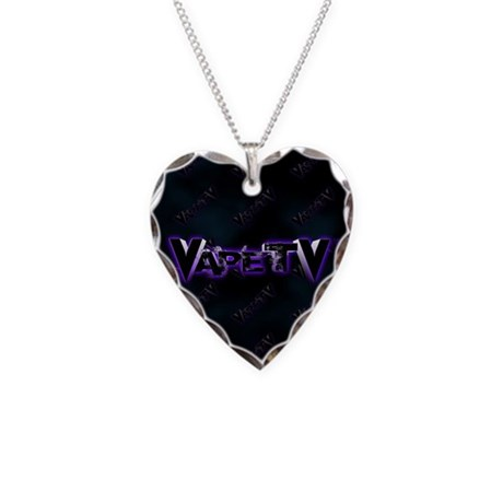 VapeTV Necklace Heart Charm