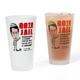 Go to jail Drinking Glass