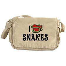 I Love Snakes Messenger Bag