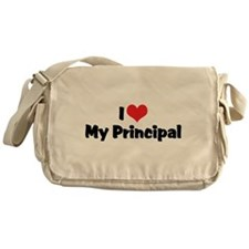I Love My Principal Messenger Bag