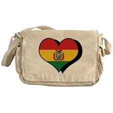 I Love Bolivia Messenger Bag