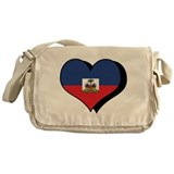 I Love Haiti Messenger Bag