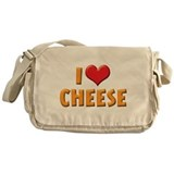 I Love Cheese Messenger Bag