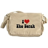 I Love The Torah 2 Messenger Bag