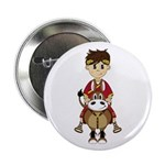 "Roman Emperor and Horse 2.25"" Button (10 Pk)"