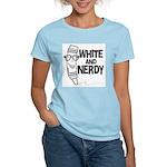 White And Nerdy Women's Light T-Shirt