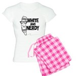 White And Nerdy Women's Light Pajamas