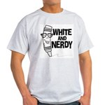 White And Nerdy Light T-Shirt