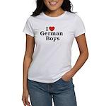 I love German Boys Women's T-Shirt