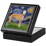 Starry / Greyhound (f) Keepsake Box