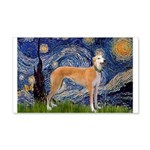 Starry / Greyhound (f) 20x12 Wall Decal