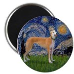 Starry / Greyhound (f) Magnet