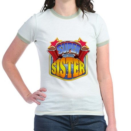 Super Sister Jr. Ringer T-Shirt