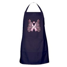 Pink Butterfly Hope Apron (dark)