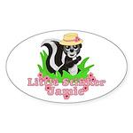 Little Stinker Jamie Sticker (Oval 10 pk)