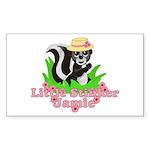 Little Stinker Jamie Sticker (Rectangle 10 pk)