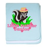 Little Stinker Janice baby blanket