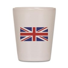UNION JACK UK BRITISH FLAG Shot Glass
