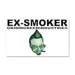 Ex-Smoker Car Magnet 20 x 12