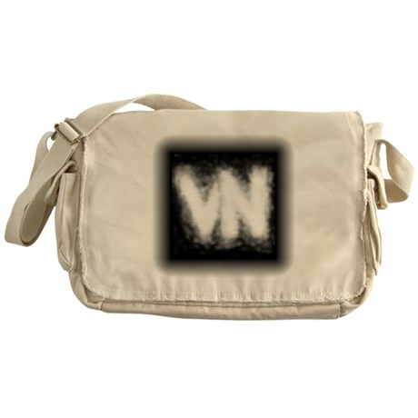 VN Logo Messenger Bag