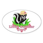 Little Stinker Jeri Sticker (Oval 10 pk)