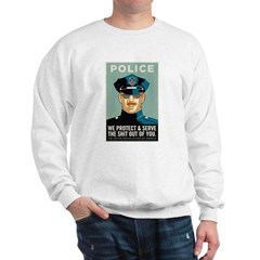 Police Protect & Serve Sweatshirt