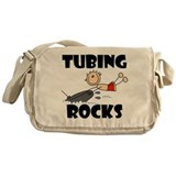 Tubing Rocks Messenger Bag