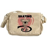 Koala Ice Skater Messenger Bag